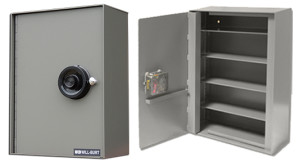 Supplementary control containers do not carry a Class 5 or 6 rating as they are intended to be 'supplemental'. Containers are available in gray color only. All containers equipped with UL Group 1R Mechanical Combination Locks. For use in conjunction with GSA approved security equipment or in protected area.